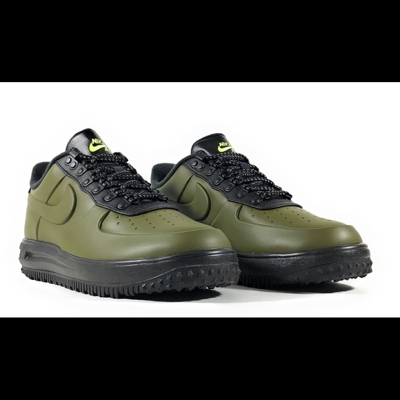 nike lunar force 1 duckboot low olive canvas